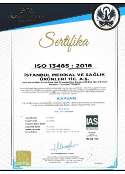 Parris ISO Kalite Belgesi